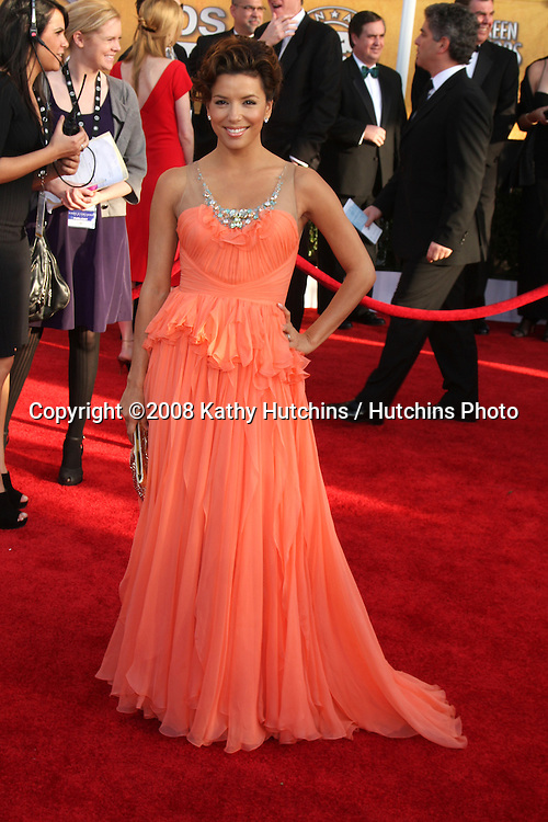 Eva Longoria Parker . arriving at the Screen Actors Guild Awards, at the Shrine Auditorium in Los Angeles, CA on .January 25, 2009.©2008 Kathy Hutchins / Hutchins Photo..