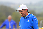 Padraig Harrington during Practice Day 2 at the 2010 Ryder Cup at the Celtic Manor Twenty Ten Course, Newport, Wales, 29th September 2010..(Picture Eoin Clarke/www.golffile.ie)