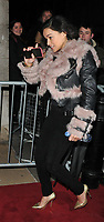 Michelle Rodriguez at the Charles Finch & Chanel Pre-BAFTAs Dinner, No. 5 Hertford Street (Loulou's), Hertford Street, London, England, UK, on Saturday 09th February 2019.<br /> CAP/CAN<br /> ©CAN/Capital Pictures