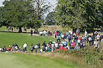 Part of the large crowd following Padraig Harrington at the start of the 3rd round of the Smurfit Kappa European Open at The K Club, Straffan,Co.Kildare, Ireland 7th July 2007 (Photo by Eoin Clarke/NEWSFILE)