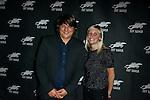 Bernard Bellefroid et Lucie Debay photocall lors de la soirée de remise des bayards lors de la  29eme édition du Festival du Film Francophone, Namur le 03 octobre 2014 Belgique