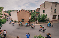 Peter Sagan (SVK/Bora-Hansgrohe) rolling through town <br /> <br /> Stage 15: Millau &gt; Carcassonne (181km)<br /> <br /> 105th Tour de France 2018<br /> &copy;kramon