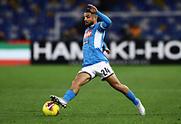 6th January 2020; Stadio San Paolo, Naples, Campania, Italy; Serie A Football, Napoli versus Inter Milan; Lorenzo Insigne of Napoli controls the ball on the outside of his foot - Editorial Use