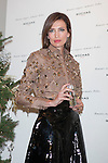 Model Nieves Alvarez poses during the Rochas perfume Christmas presentation in Madrid, Spain. December 03, 2014. (ALTERPHOTOS/Victor Blanco)