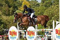 FRA-Kevin Staut (REVEUR DE HURTEBISE) 2012 GBR-Longines Hickstead Royal International Horse Show: THE KING GEORGE V GOLD CUP-34TH
