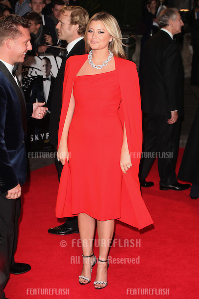 Holly Valance arriving for the Royal World Premiere of 'Skyfall' at Royal Albert Hall, London. 23/10/2012 Picture by: Alexandra Glen / Featureflash