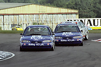 1993 British Touring Car Championship. #5 Andy Rouse (GBR) & #15 Paul Radisich (NZL). Team Mondeo. Ford Mondeo Si.