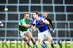 David Moran KOR powers past Billy Maguire Legion during their SFC clash in Fitzgerald Stadium on Sunday