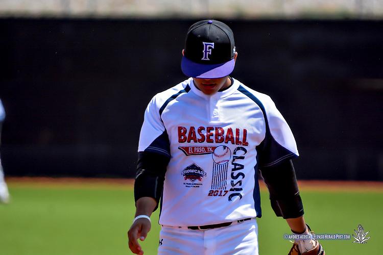 The Inagural El Paso Baseball Hall Of Fame Select Showcase Baseball Classic Game,  El Paso Community College Baseball Field, El Paso, TX August 5, 2017