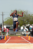 SAN ANTONIO, TX - MARCH 17, 2007: UTSA Relays Track & Field Meet - Day 2 at Jerry Comalander Stadium. (Photo by Jeff Huehn)