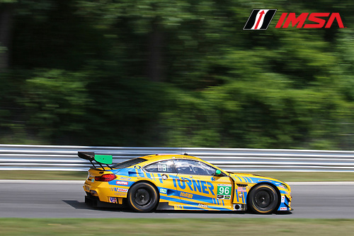 22-23 July, 2016, Lakeville, Connecticut USA<br /> 96, BMW, M6 GT3, GTD, Bret Curtis, Jens Klingmann<br /> &copy;2016, John Thawley<br /> LAT Photo USA