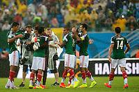 FRANCISCO RODRIGUEZ, GUILLERMO OCHOA, Giovani DOS SANTOS, RAFAEL MARQUEZ, CARLOS SALCIDO  <br /> Natal (Brasile) 13-06-2014 Estadio Das Dunas. Group A Mexico - Cameroon / Messico - Camerun 1-0 . Football 2014 Fifa World Cup Brazil - Campionato del Mondo di Calcio  Brasile 2014 <br /> Foto Fotoarena/Panoramic/Insidefoto