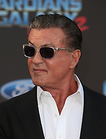 "HOLLYWOOD, CA - April 19: Sylvester Stallone, At Premiere Of Disney And Marvel's ""Guardians Of The Galaxy Vol. 2"" At The Dolby Theatre  In California on April 19, 2017. Credit: FS/MediaPunch"