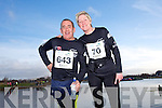 John Moloney and Christina Curtin at the Valentines 10 mile road race in Tralee on Saturday.