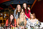 Farewell party for Lynn Cosgrove leaving deals here with work colleagues at Ristorante Uno on Friday Pictured Shauna Dowling, Lynn Cosgrove, Rachel O'Halloran, Melissa Radley,  Vivienne Sayers