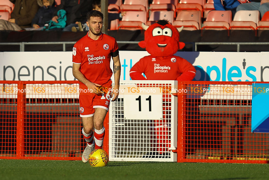 Joe Maguire of Crawley Town during Crawley Town vs MK Dons, Sky Bet EFL League 2 Football at Broadfield Stadium on 3rd November 2018