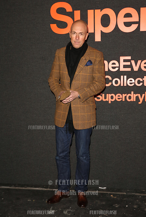 Dylan Jones attending The Superdry AW14 event, London Collections: Men held at the old sorting office<br /> London. 07/01/2014 Picture by: Henry Harris / Featureflash