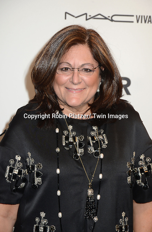 Fern Mallis  attends the amfAR New York Gala to kick off Fashion Week on February 6, 2013 at Cipriani Wall Streetin New York City. The honorees were Heidi Klum, Janet Jackson  and Kenneth Cole.