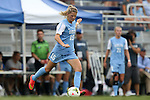 07 September 2014: North Carolina's Katie Bowen (NZL). The University of North Carolina Tar Heels played the University of Arkansas Razorbacks at Koskinen Stadium in Durham, North Carolina in a 2014 NCAA Division I Women's Soccer match. UNC won the game 2-1.