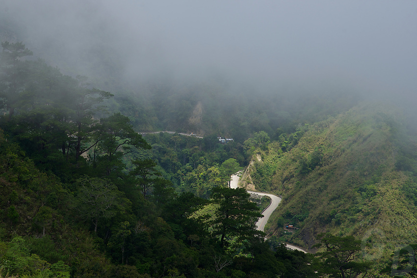 Philippine Mountain province traveling from Sagada to Vigan