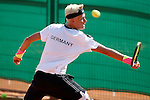 Germany's Nicola Kuhn during Junior Davis Cup 2015 match. September  30, 2015.(ALTERPHOTOS/Acero)