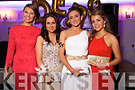 Lucia Baily, Sinead Flemming, Amy Sweeney and Ellen Horan at the Castleisland Presentation debs ball at the Earl of Desmond hotel on Saturday night.