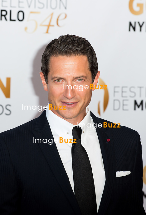 Sasha Roiz arrives at the closing ceremony of the 54th Monte-Carlo Television Festival on June 11, 2014 in Monte-Carlo, Monaco.