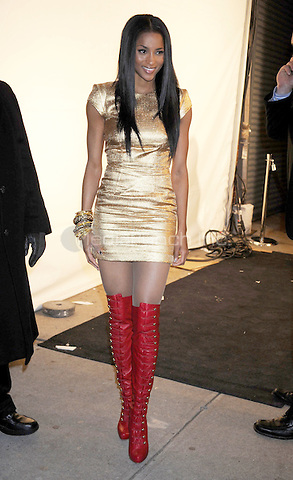 Ciara at the launch of VEVO, a music-video website, at Skylight Studio in New York City. December 8, 2009. Credit: Dennis Van Tine/MediaPunch