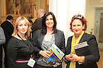 Carol Kierans, Elaine Grennan and Aoife Ruane at the Business Excellence Awards, held in the Highlanes Gallery..Picture: Shane Maguire / www.newsfile.ie.
