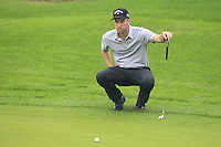 Chris Kirk (USA) at the 1st green during Thursday's Round 1 of the 2014 BMW Masters held at Lake Malaren, Shanghai, China 30th October 2014.<br /> Picture: Eoin Clarke www.golffile.ie