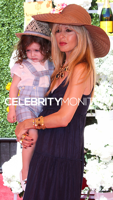 PACIFIC PALISADES, CA - OCTOBER 05: Skyler Morrison Berman and Rachel Zoe arrive at the 4th Annual Veuve Clicquot Polo Classic held at Will Rogers Polo Grounds on October 5, 2013 in Pacific Palisades, California. (Photo by Xavier Collin/Celebrity Monitor)