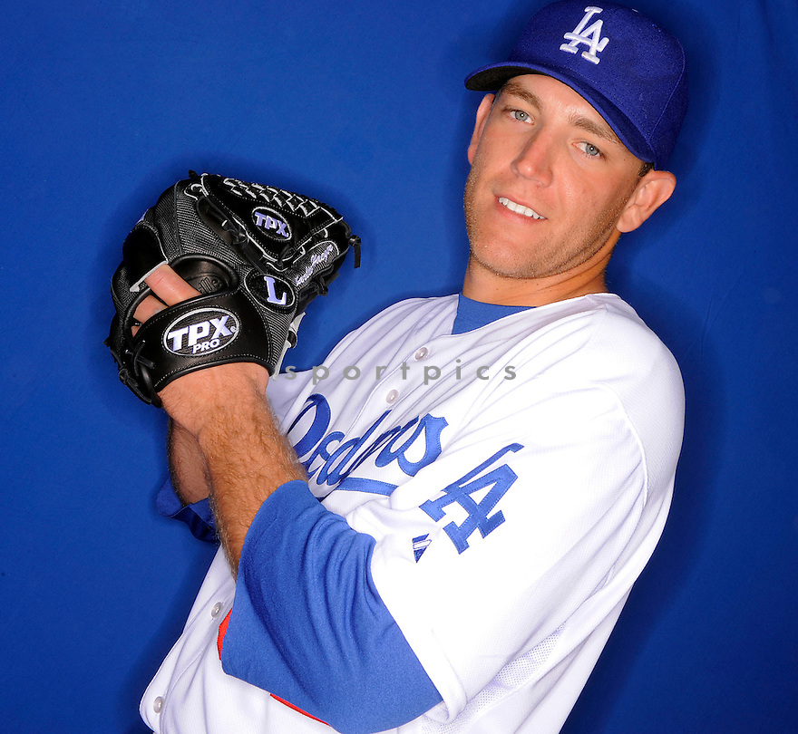 CHARLIE HAEGER, of the Los Angeles Dodgers, during photo day of spring training and the Dodger's training camp in Glendale, Arizona on February 21, 2009.