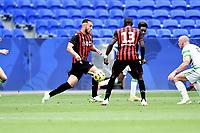 16th July 2020; Nice, France; Veolia Trohy Football friendly, OGC Nice versus Celtic FC;  Amine Gouiri nice breaks forward on the ball