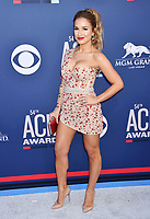 LAS VEGAS, CA - APRIL 07: Jessie James Decker attends the 54th Academy Of Country Music Awards at MGM Grand Hotel &amp; Casino on April 07, 2019 in Las Vegas, Nevada.<br /> CAP/ROT/TM<br /> &copy;TM/ROT/Capital Pictures