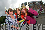 The launch of Heritage Week at Kerry County Museum on Friday. Pictured from left: Alice O'Sullivan, Sandra Leahy and Claudia Kohler.