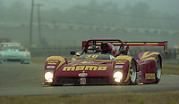 The #30 Ferrari 333 SP of Gianpiero Moretti,  Bob Wollek, Didier Theys and Max Papis races to a second place finish in the 24 Hours of Daytona, IMSA race, Daytona International Speedway, Daytona Beach , FL, February 4, 1996.  (Photo by Brian Cleary/www.bcpix.com)