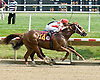 Smiley Pete winning at Delaware Park on 8/1/09