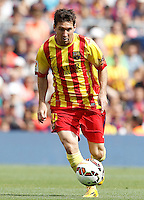 FC Barcellona's Leo Messi during La Liga match.September 13,2014. (ALTERPHOTOS/Acero) <br /> Football Calcio 2014/2015<br /> La Liga Spagna<br /> Foto Alterphotos / Insidefoto