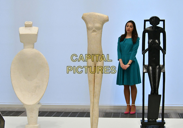 Tate Modern opens UK&rsquo;s first major retrospective of Alberto Giacometti for 20 years, celebrating the figures and form of Swiss sculptor and painter Alberto Giacometti 50 years after The Tate first showed his work. Features his most famous bronze sculptures, as well as previously unseen plasters, oil paintings and drawings.<br /> CAP/JOR<br /> &copy;JOR/Capital Pictures