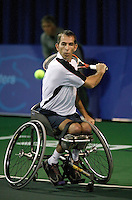 19-11-06,Amsterdam, Tennis, Wheelchair Masters, Robin Ammerlaan in the finals