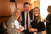 Dianne Allen of Gemini PR and Marketing with Nick Taylor ofDomino Commercial Interiors and Laura Jardine of Innes England