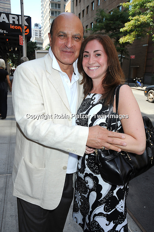 Thom Christopher and Stephanie Sloane..at The One Life to Live 40th Anniversary luncheon on     July 15, 2008 at their studio in New York City. ....Robin Platzer, Twin Images