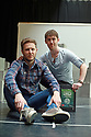 Matt Forsythe, (L) the lead in A Night in November with Director Matthew McElhinney (R) at the Lyric, Belfast, Friday, June 7, 2019.   (Photo by Paul McErlane for Belfast Telegraph)