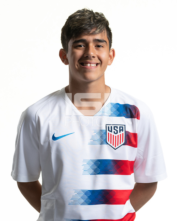 Rome, GA - Friday, June 21, 2019:  Para 7 USMNT headshot of Michael Ruiz.