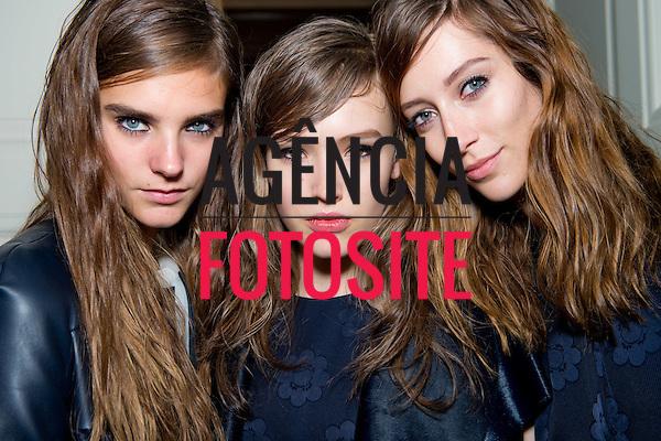 Londres sep/2013 - Backstage da Murberry na Semana de moda de Londres - Verao 2014. <br /> Foto: FOTOSITE