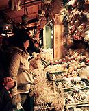 AUSTRIA, Vienna, Schonbrunn Christmas Market crowd shopping for Christmas decorations