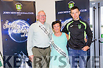 Ina and John O'Shea with their Grandson John Horgan at the Launch of the John Mitchel's first Strictly Come Dancing event on Saturday, which will be held at Ballygarry House Hotel on Sunday 30th October at 8pm