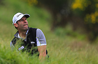 Bradley Dredge (WAL) in the rough on the 1st fairway during Round 2 of the 100th Open de France, played at Le Golf National, Guyancourt, Paris, France. 01/07/2016. <br /> Picture: Thos Caffrey | Golffile<br /> <br /> All photos usage must carry mandatory copyright credit   (&copy; Golffile | Thos Caffrey)