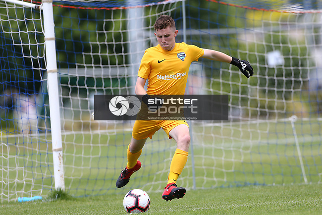 NELSON, NEW ZEALAND - DECEMBER 15: Tasman United Youth v Auckland City  on December 15 2018 in Nelson, New Zealand. (Photo by: Evan Barnes Shuttersport Limited)