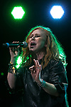 © Joel Goodman - 07973 332324. 06/08/2017 . Macclesfield , UK . CAROL DECKER of T'Pau performs at The Rewind Festival , celebrating 1980s music and culture , at Capesthorne Hall in Siddington . Photo credit : Joel Goodman